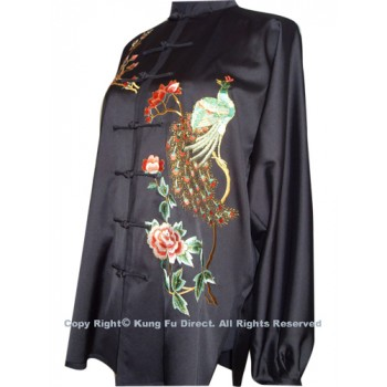 UC524 - Black Uniform with Phoenix Embroidery